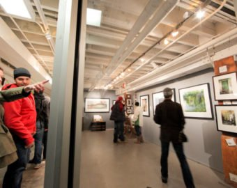 Gallery Open All Night During Nuit Blanche