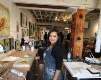 Artist Joya Paul And Her Second Door Studio