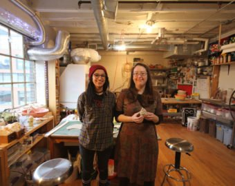 Artists Shay Salehi And Nurielle Stern In Their Shared Studio