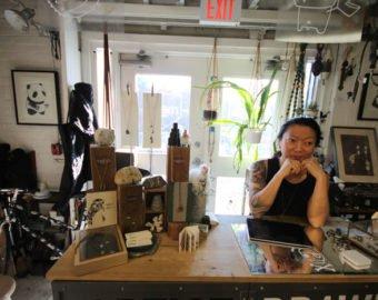 Hoi-An Tang At Her Shop Mehoi